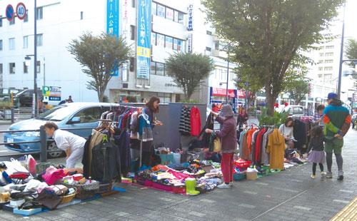 湘南台東口商店街 おたのしみ市