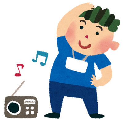 ラジオ体操 プチモールひがし海岸商店街